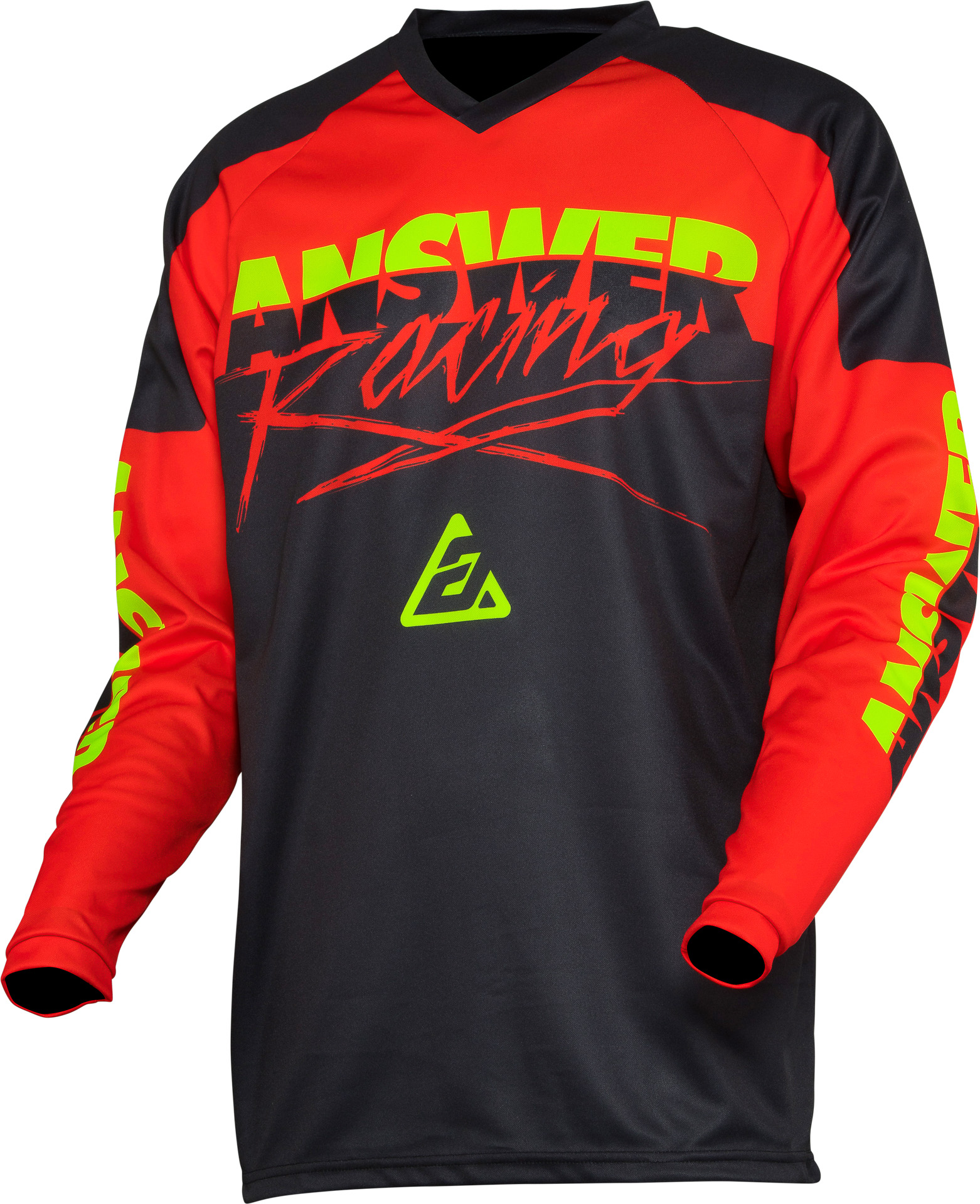 Answer Racing Youth Syncron Dirt Bike Jersey Gray//Pink Size Youth XL