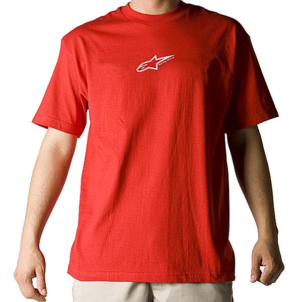 Alpinestars Astar Logo K Green Medium T-Shirt Tee Shirt Med Md M