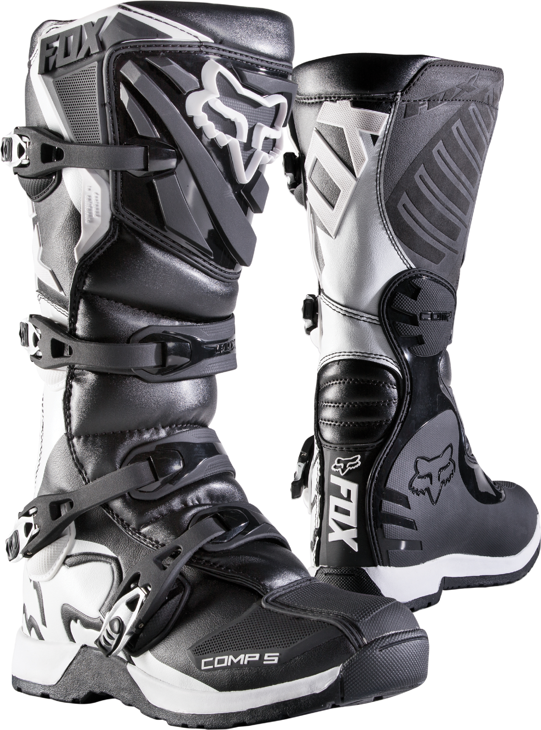 Youth Dirt Bike Boots >> Details About Fox Racing Youth Comp 5y Black White Dirt Bike Boots Motocross Atv Mx