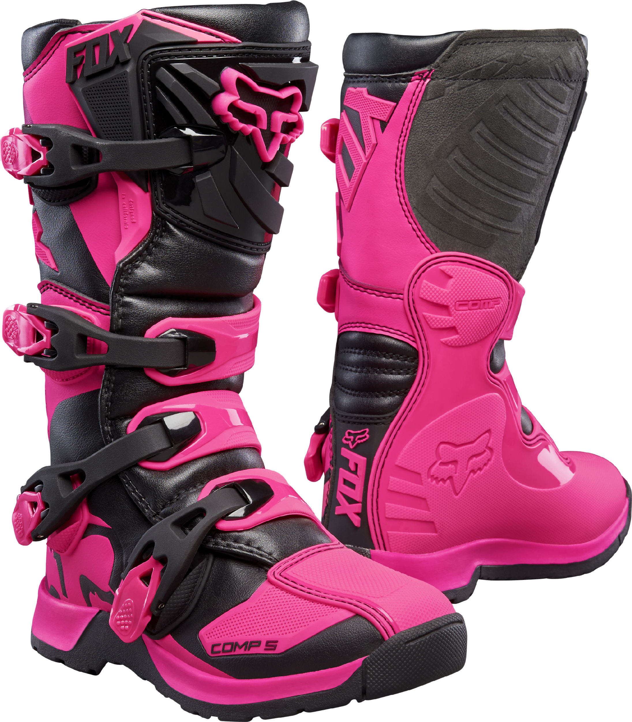 Youth Dirt Bike Boots >> Details About Fox Racing Youth Comp 5y Pink Black Dirt Bike Boots Motocross Atv Mx