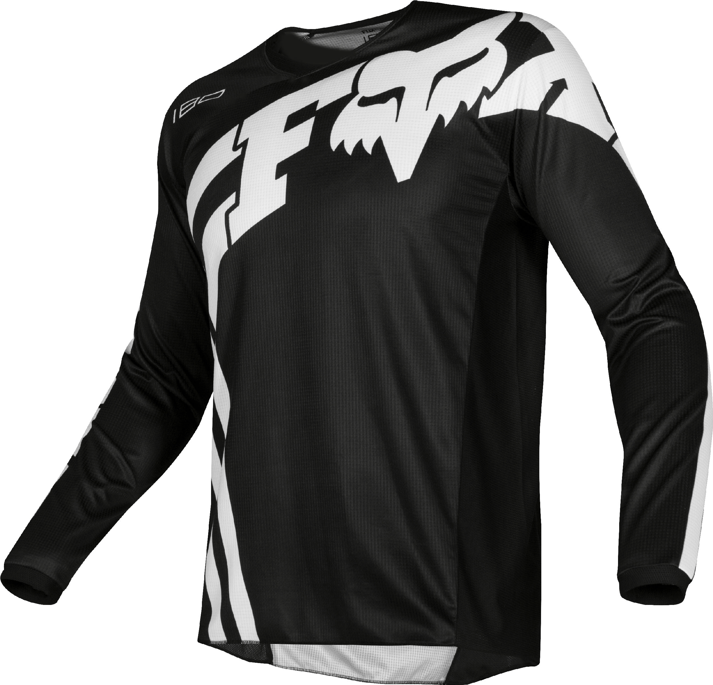 well known elegant shoes genuine shoes Fox Racing Youth 180 Cota Black/White Dirt Bike Jersey Motocross ...