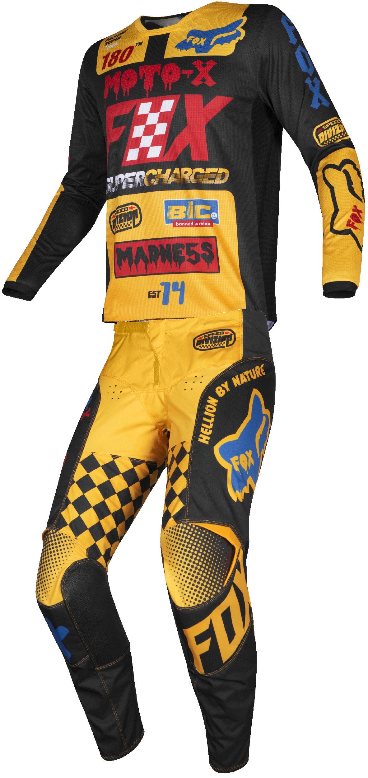 Fox Racing 180 Czar Kids Off-Road Motorcycle Jersey