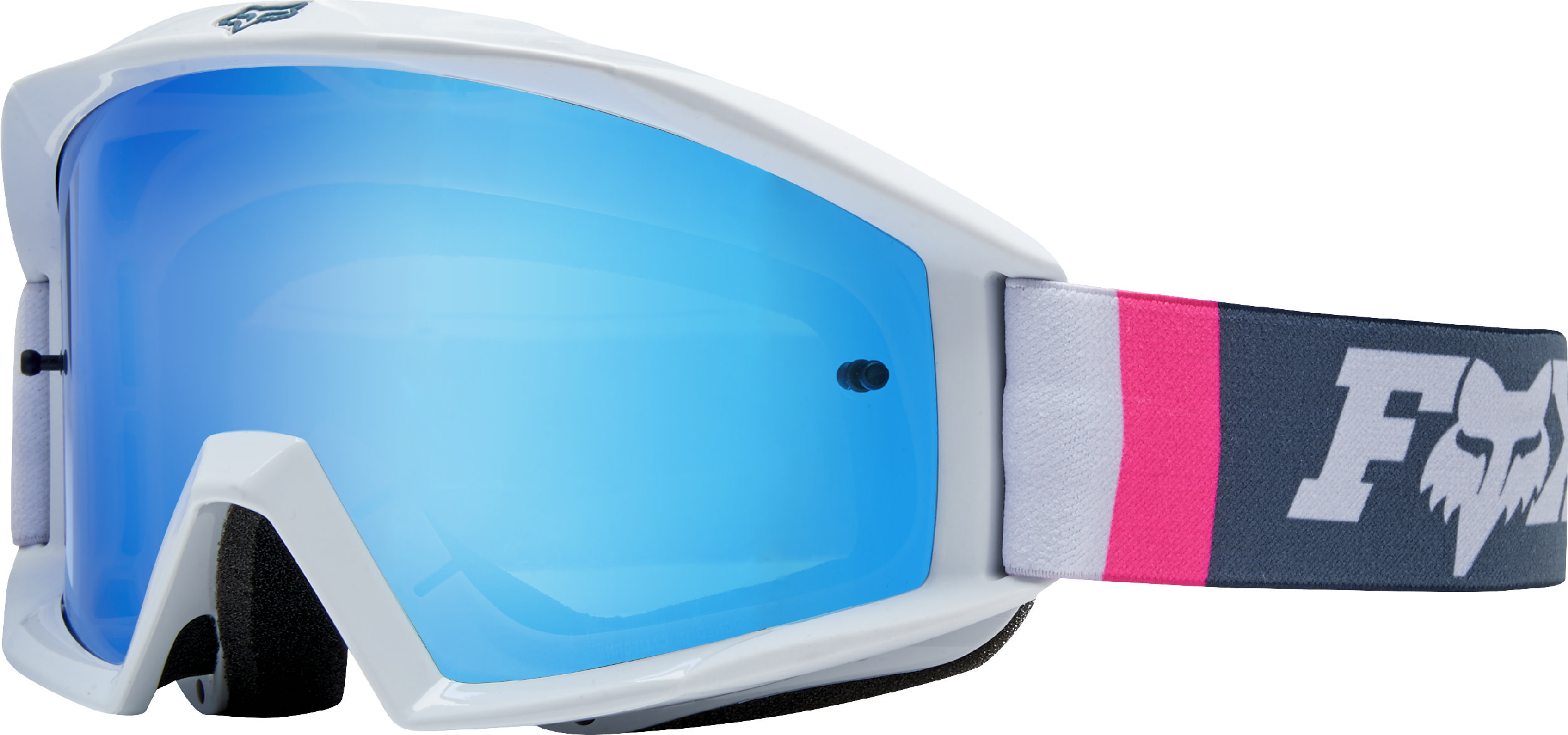 5c8501d7c Fox Racing Youth Main Cota Navy Blue/White Dirt Bike Goggles Motocross ATV  MX