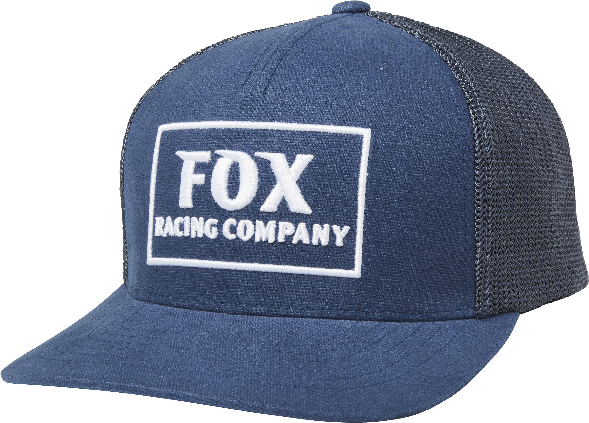 c3bd064233f291 Fox Racing Mens Navy Blue Heater Snapback Hat 191972185571 | eBay