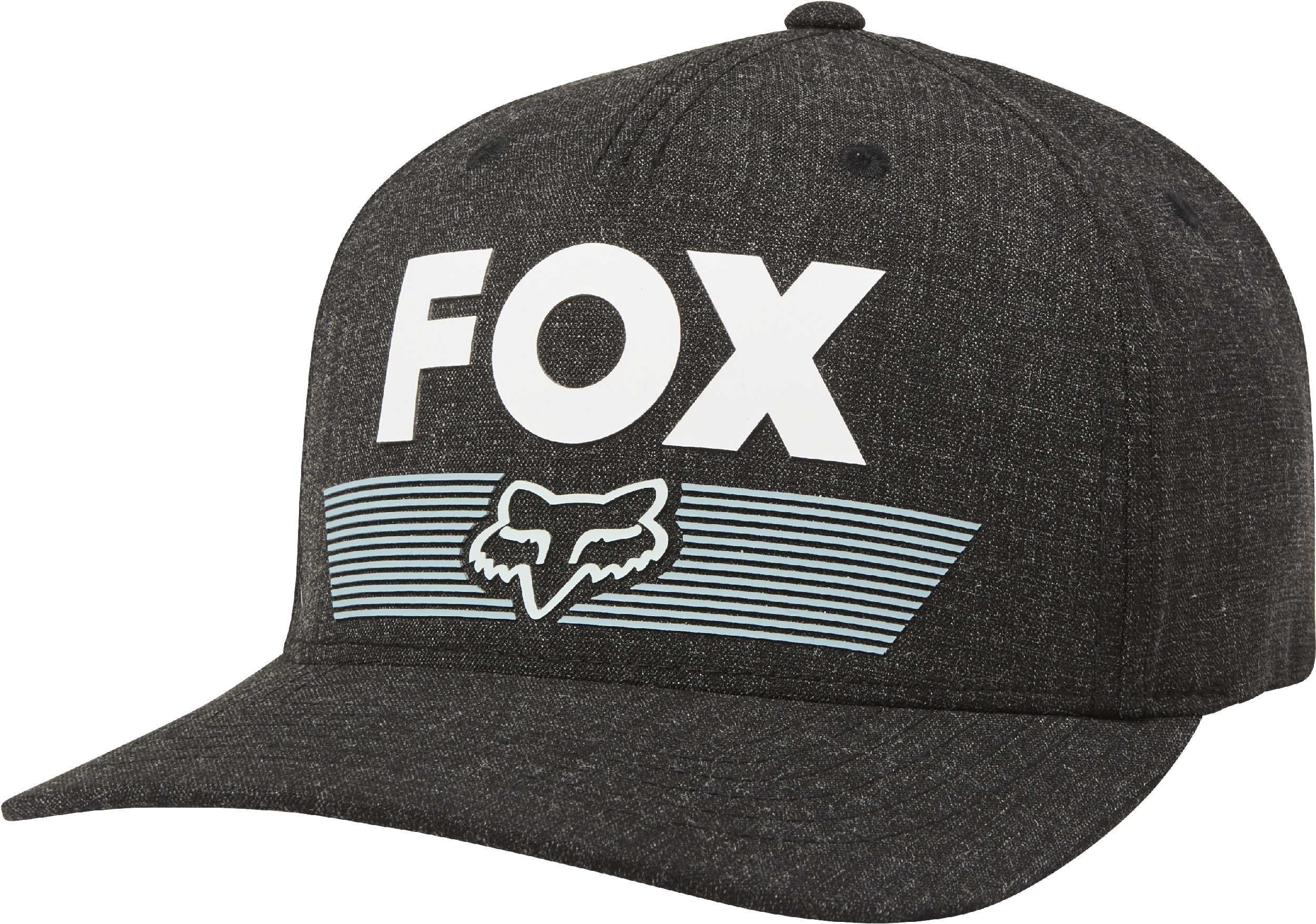 870ebb2afa37a Fox Racing Mens Black Aviator Flexfit Hat