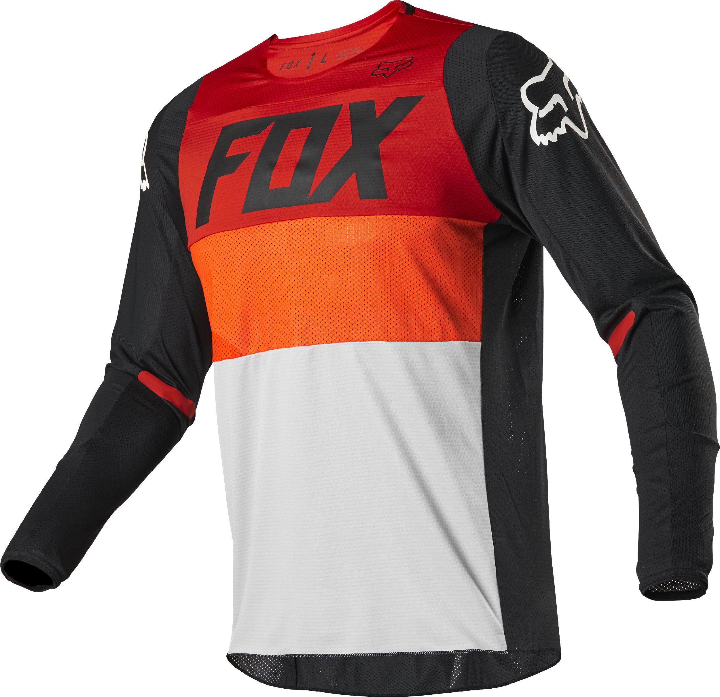 2020 Fox Racing 360 Linc Jersey-Grey//Orange-XL