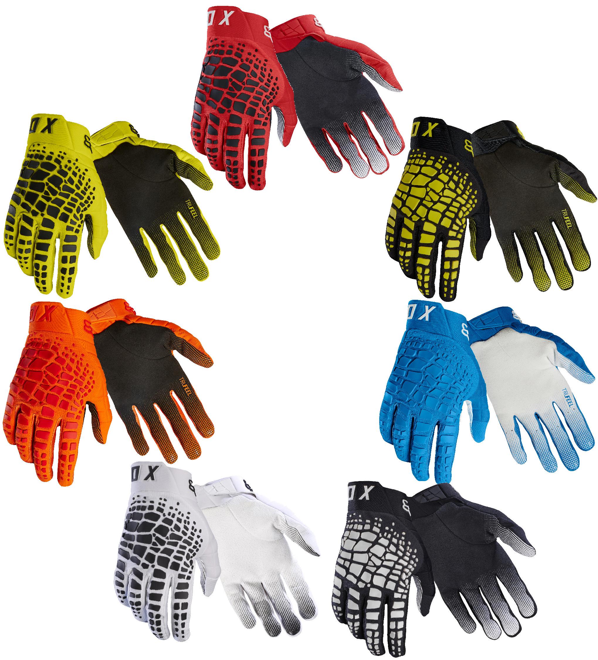2018 Fox Racing 360 Grav Gloves-White-XL