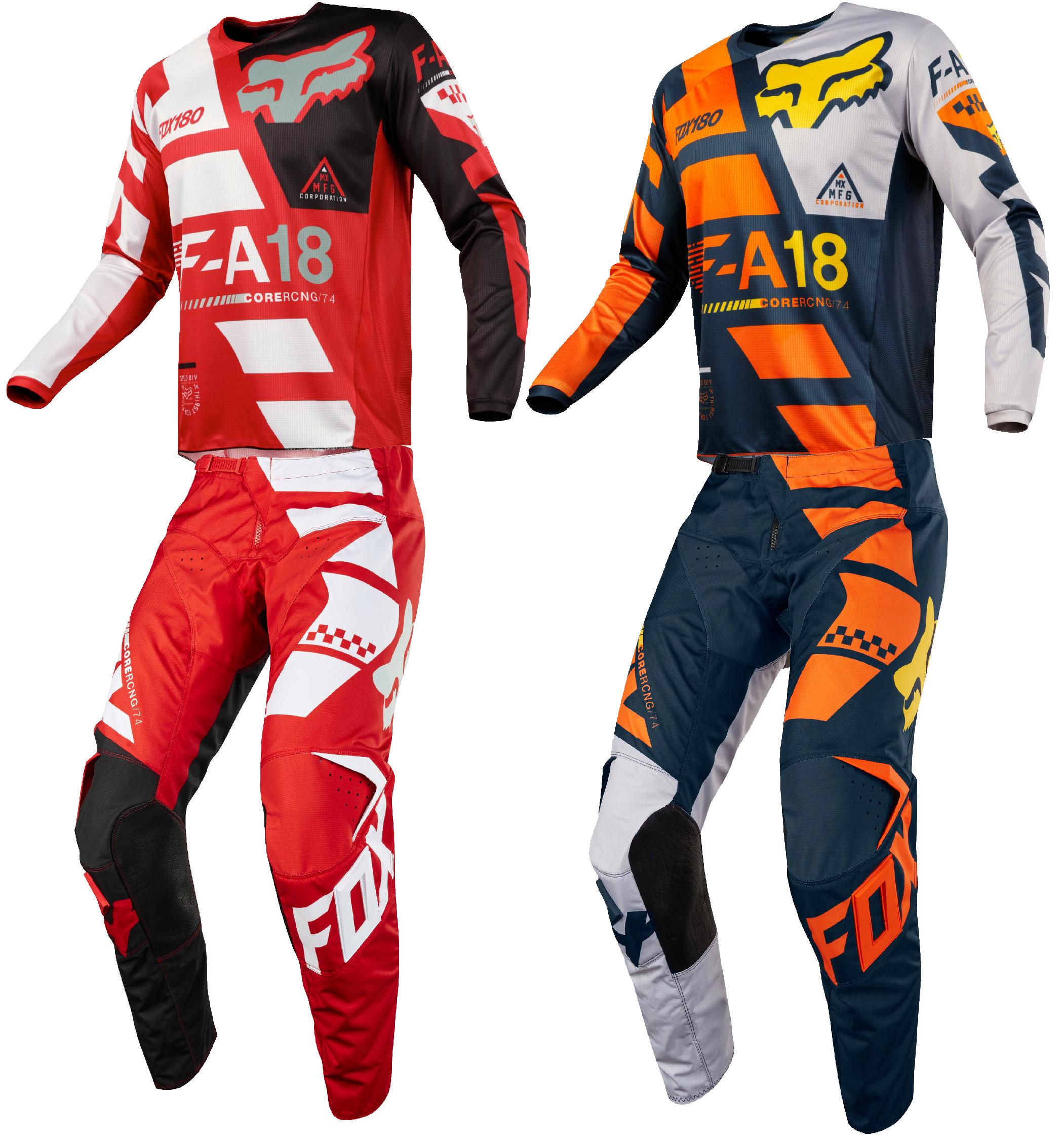 Fox Racing Kids 180 Sayak Dirt Bike Jersey & Pants Kit bo MX ATV