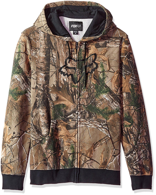 Fox Mens Standard Global Zip Fleece
