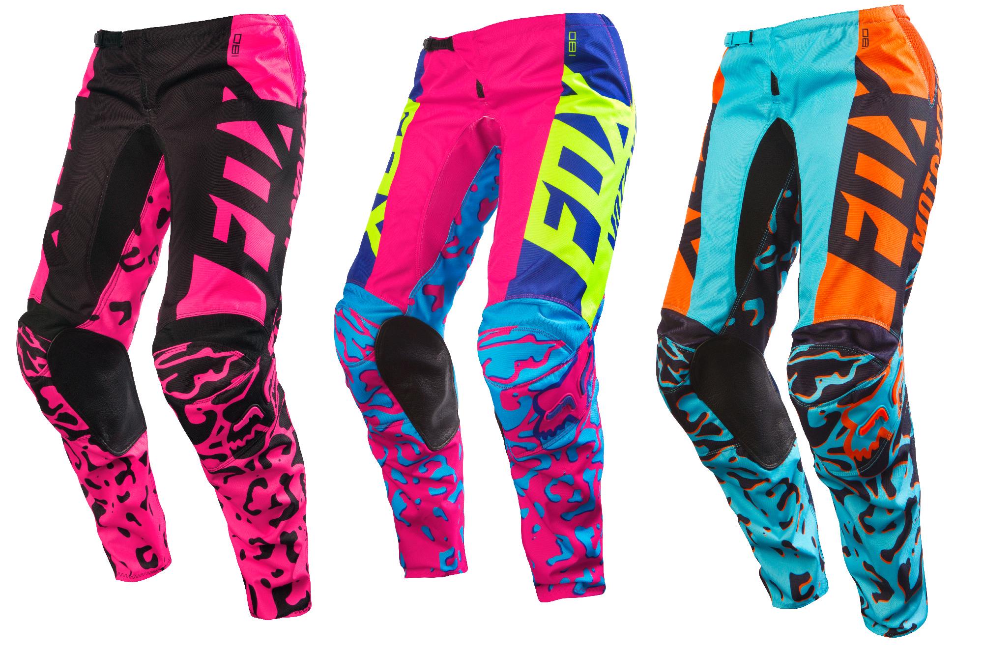 Fox Racing Womens Black//Pink 180 Race Dirt Bike Pants MX ATV Off-Road
