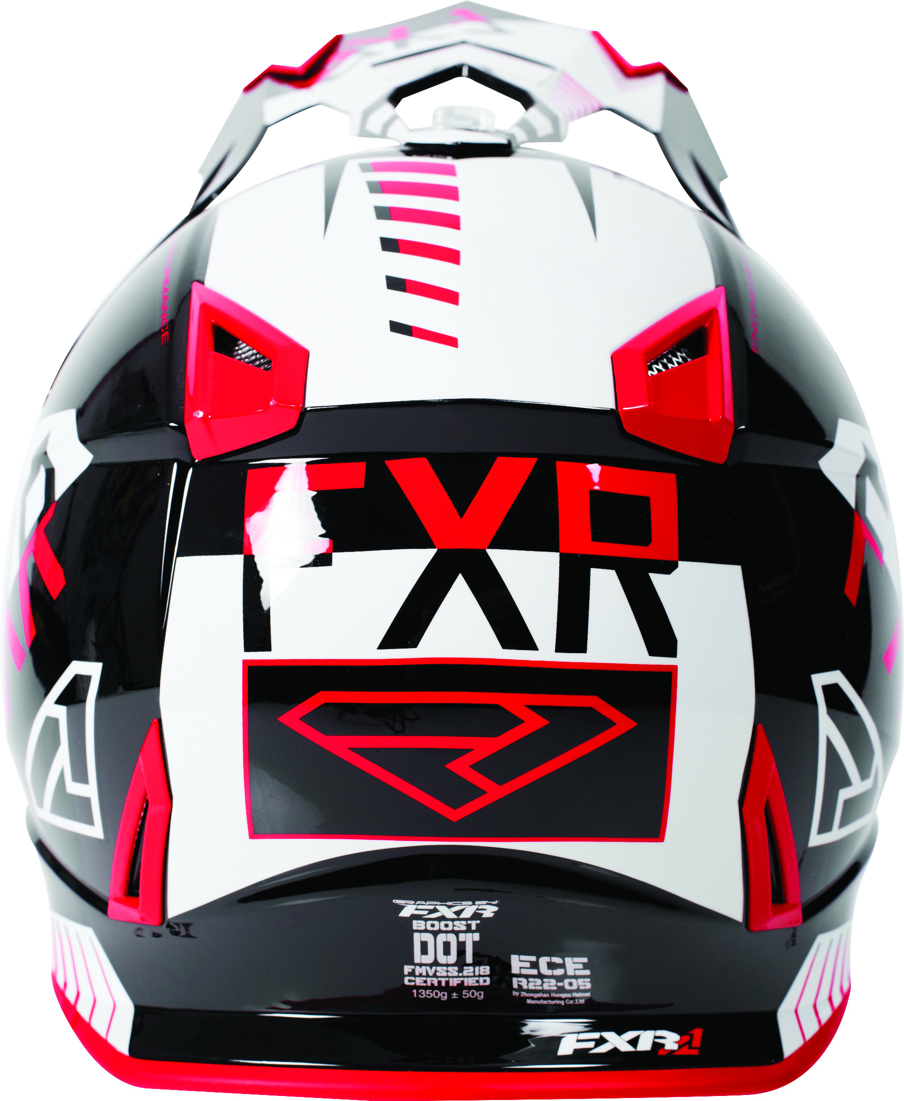 Details about FXR Adult Black/Red/White Boost Battalion Snowmobile Helmet  Snow Snocross DOT