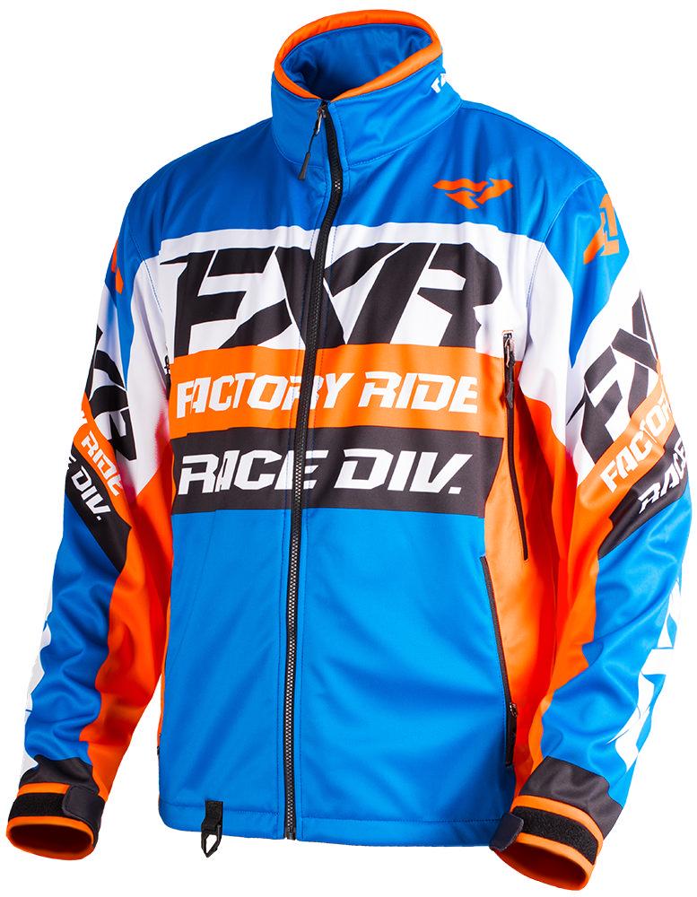 FXR-Blue-Orange-Black-White-Mens-Cold-Cross-RR-Non-Insulated-Snowmobile-Jacket