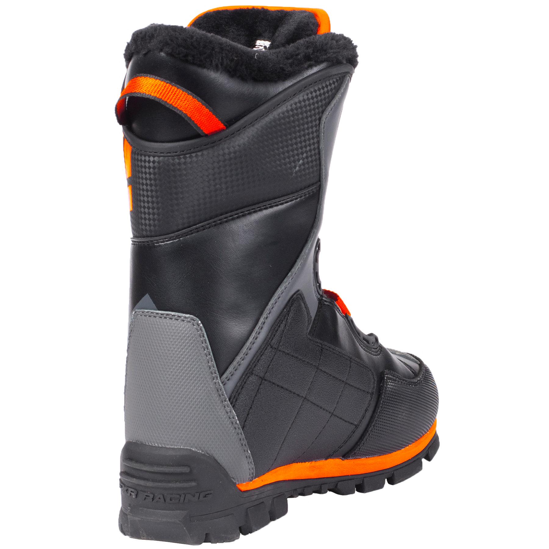 FXR X-Cross Speed Boot Black/Orange Size 11/45 Boots Automotive ...