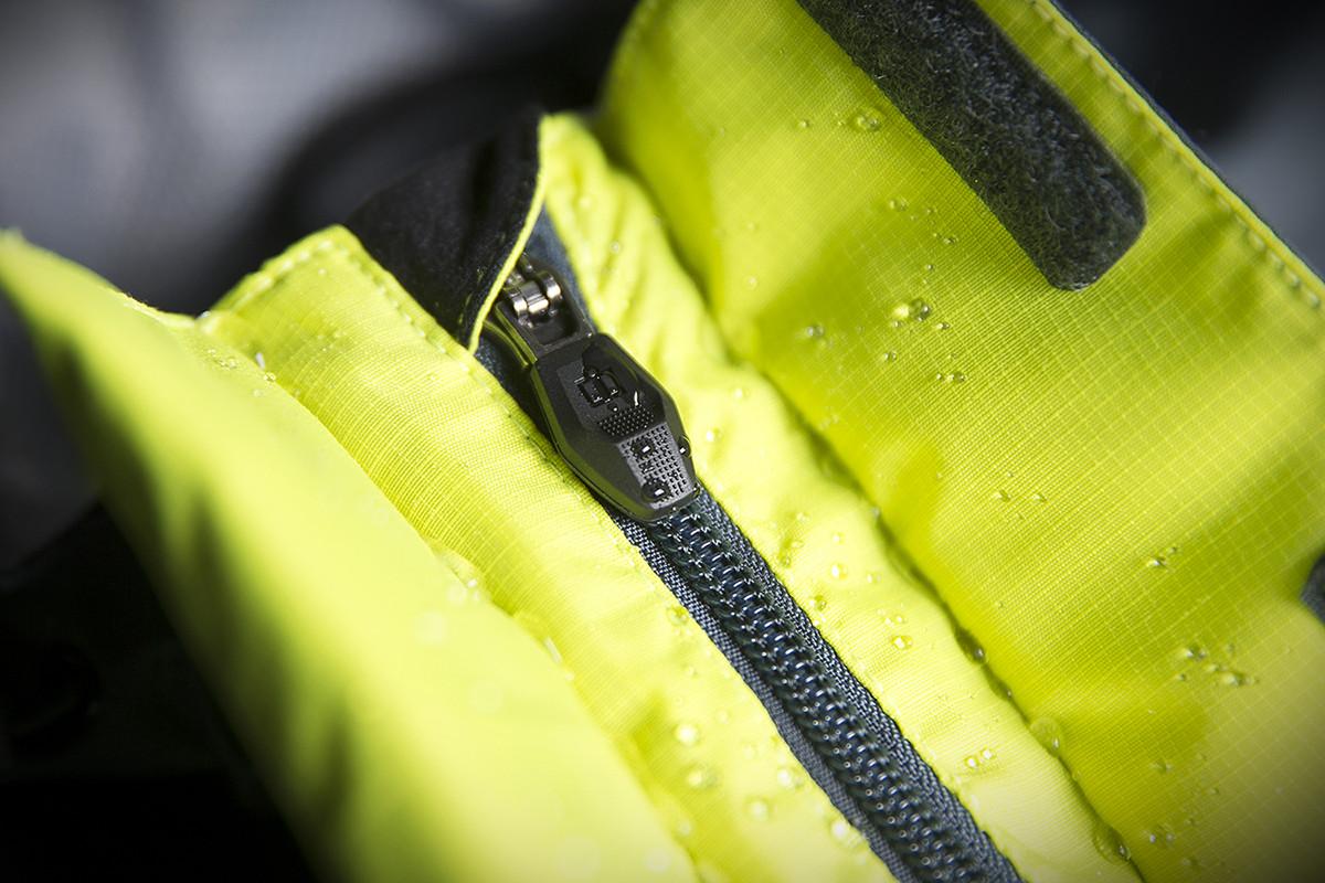 Icon Mens Hi-Viz Yellow//Grey Waterproof Textile PDX 2 Motorcycle Jacket