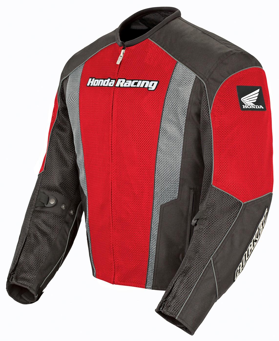 Joe Rocket XL Red /Black Honda CBR Mesh Textile Motorcycle Jacket XL