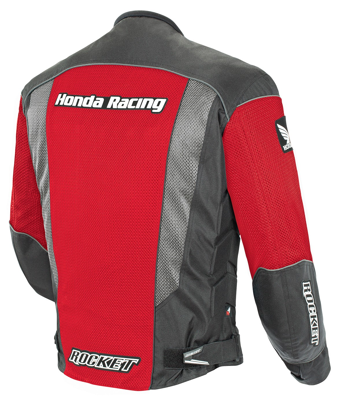 thumbnail 2 - Joe Rocket XL Red /Black Honda CBR Mesh Textile Motorcycle Jacket XL