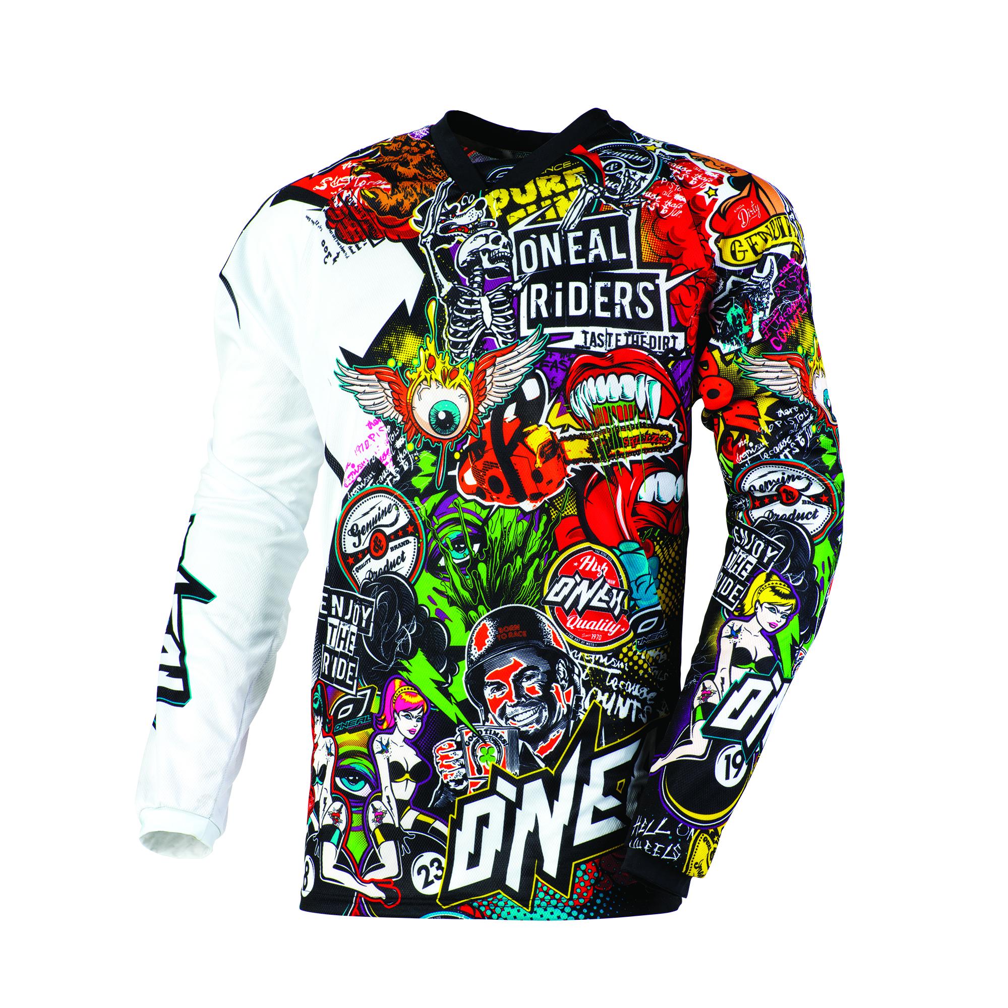 O/'Neal Mayhem Crank motocross dirt bike MX MTB BMX off-road gear Jersey