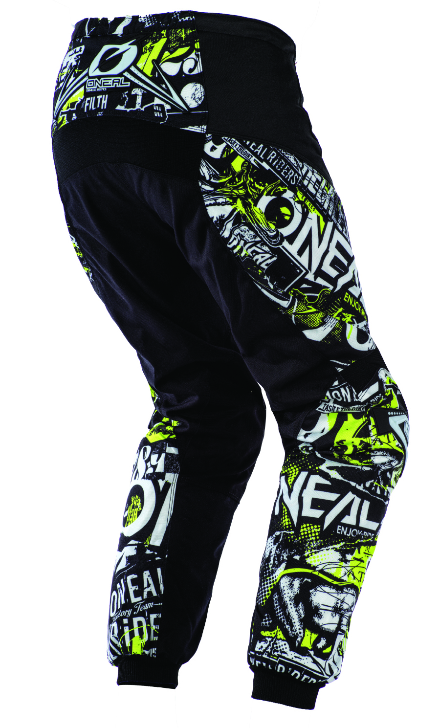 ONeal Mens Element Shred Pant Black, 38