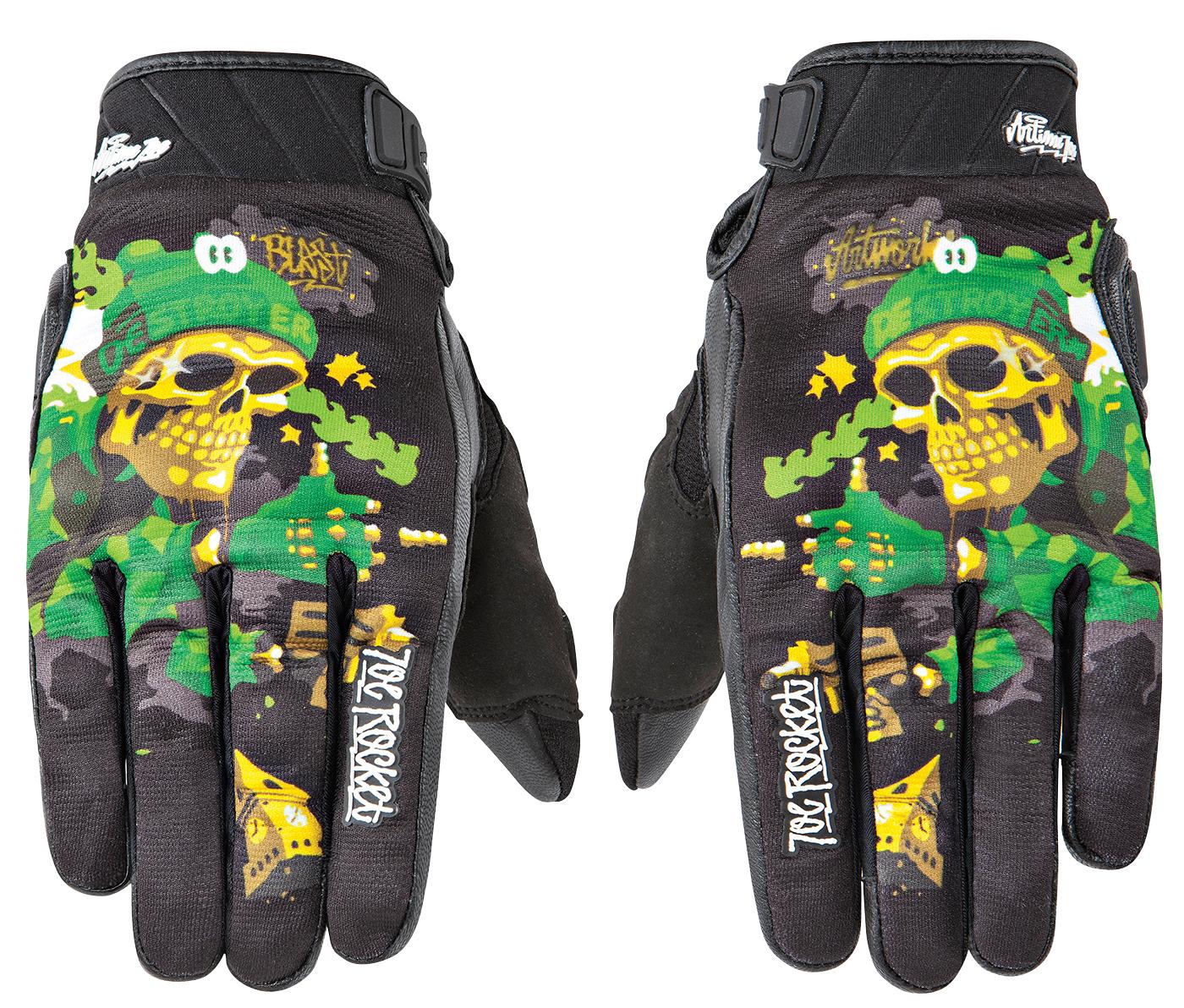 Joe Rocket Phoenix 4.0 Mens Leather Road Race Motorcycle Gloves Blue//Black//Silver//Medium