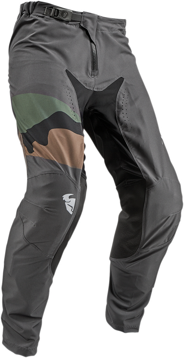 Thor Prime Pro Fighter Mens MX Offroad Pants Blue Camo