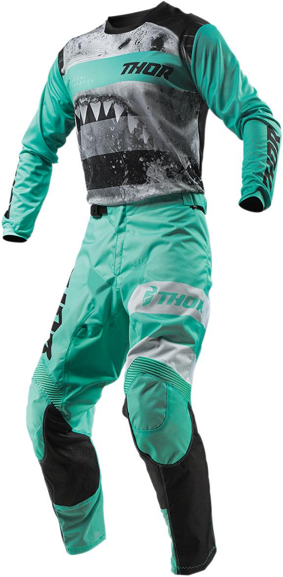 2019 THOR PULSE SAVAGE BIG KAT MX MENS ADULT RACE GEAR COMBO JERSEY PANTS ATV